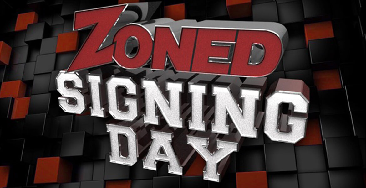 3rd Annual Zoned Signing Day