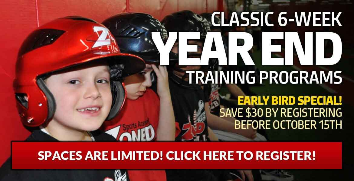 Classic 6-Week Year End Training Programs (Ages 6-10)