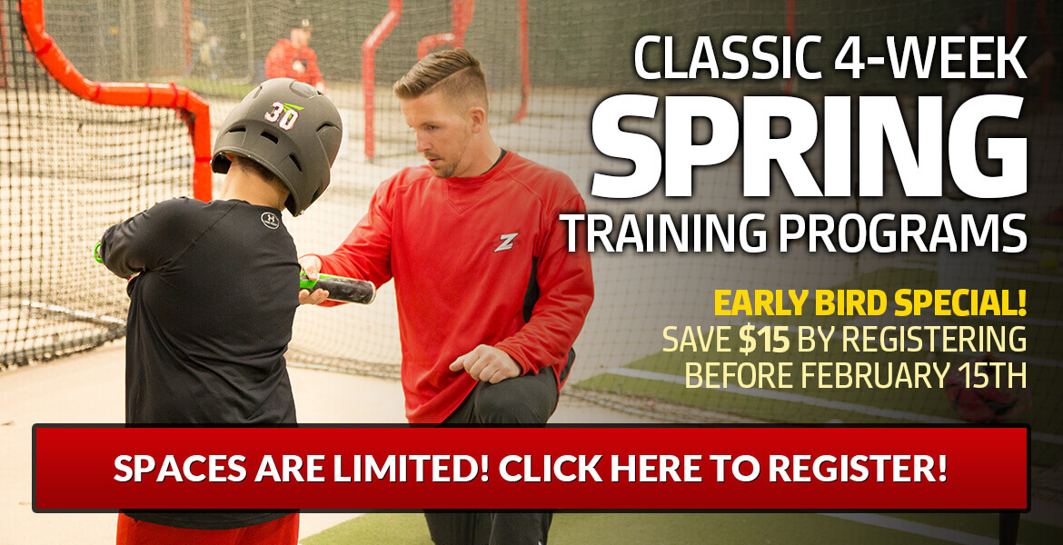 Classic 4-Week Spring Training Programs (Ages 6-12)