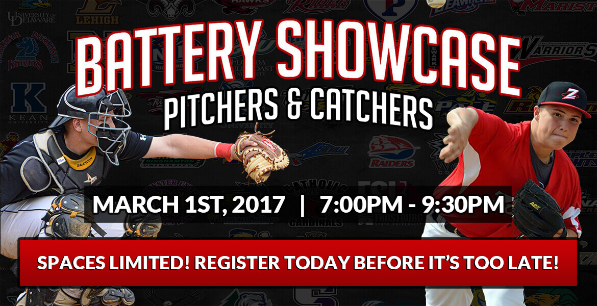 "4th Annual ""Beasts of the East"" Pitchers & Catchers Showcase!"