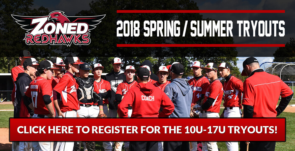 2018 Zoned RedHawks Spring/Summer Tryouts
