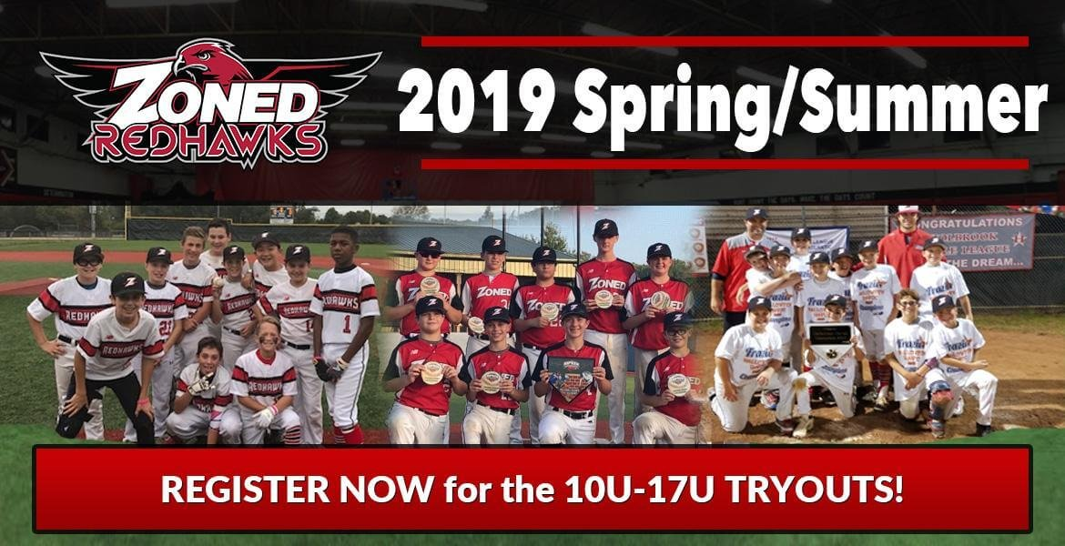 Zoned RedHawks 2019 Spring/Summer Tryouts