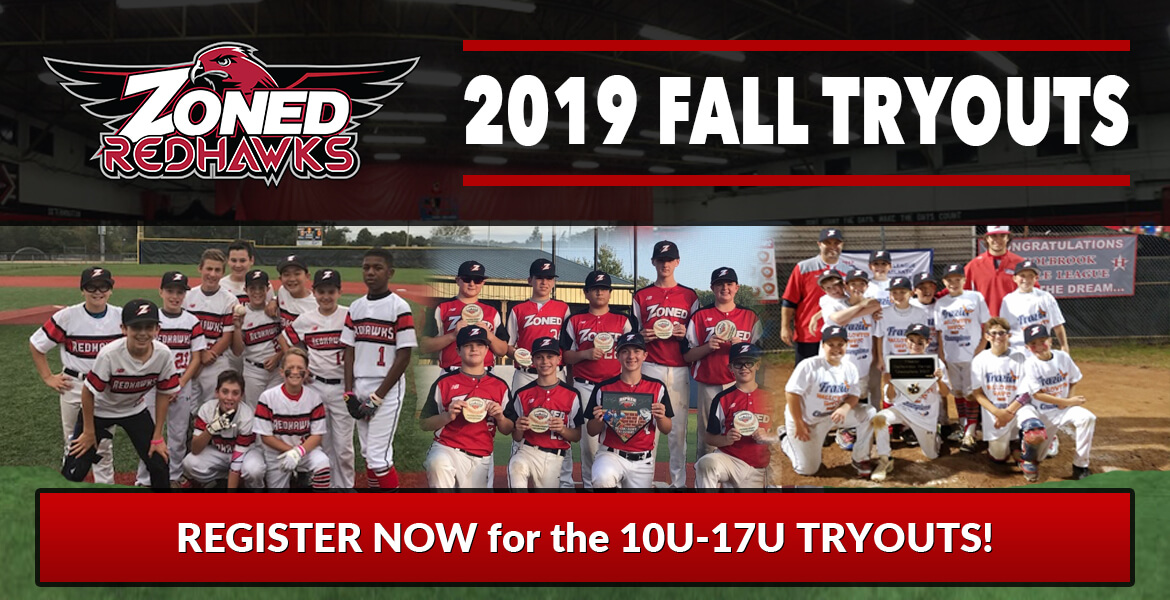 2019 Zoned RedHawks Fall Tryouts