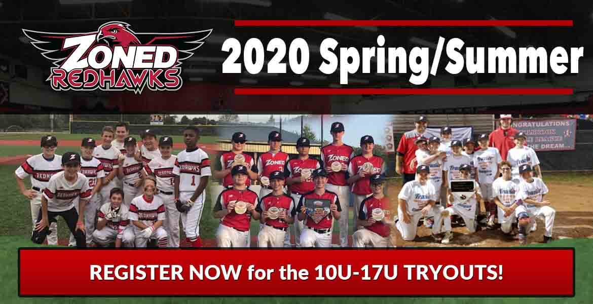2020 Zoned RedHawks Spring/Summer Tryouts
