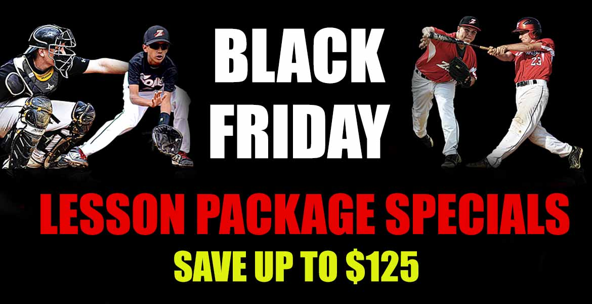 Black Friday/Cyber Monday Lesson Package Specials