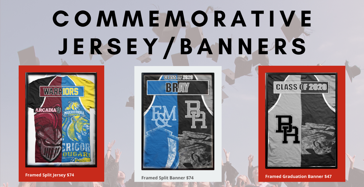 Commemorative Jersey and Banners